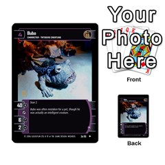 Star Wars Tcg Iii By Jaume Salva I Lara   Multi Purpose Cards (rectangle)   Yc4kan8f88nv   Www Artscow Com Front 11
