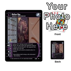 Star Wars Tcg Iii By Jaume Salva I Lara   Multi Purpose Cards (rectangle)   Yc4kan8f88nv   Www Artscow Com Front 12