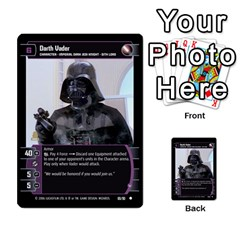 Star Wars Tcg Iii By Jaume Salva I Lara   Multi Purpose Cards (rectangle)   Yc4kan8f88nv   Www Artscow Com Front 35