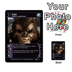 Star Wars Tcg Iii By Jaume Salva I Lara   Multi Purpose Cards (rectangle)   Yc4kan8f88nv   Www Artscow Com Front 47