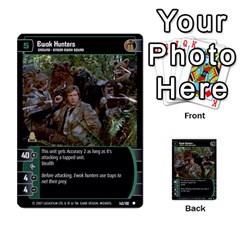 Star Wars Tcg V By Jaume Salva I Lara   Multi Purpose Cards (rectangle)   I6djriq2k52n   Www Artscow Com Front 11