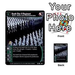 Star Wars Tcg V By Jaume Salva I Lara   Multi Purpose Cards (rectangle)   I6djriq2k52n   Www Artscow Com Front 20