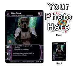 Star Wars Tcg V By Jaume Salva I Lara   Multi Purpose Cards (rectangle)   I6djriq2k52n   Www Artscow Com Front 26