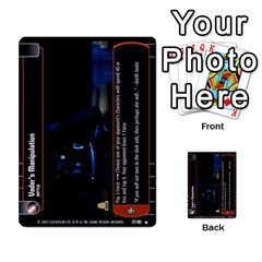 Star Wars Tcg V By Jaume Salva I Lara   Multi Purpose Cards (rectangle)   I6djriq2k52n   Www Artscow Com Front 36