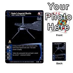 Star Wars Tcg V By Jaume Salva I Lara   Multi Purpose Cards (rectangle)   I6djriq2k52n   Www Artscow Com Front 37