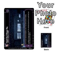Star Wars Tcg Vi By Jaume Salva I Lara   Multi Purpose Cards (rectangle)   Bxke0hvghvar   Www Artscow Com Front 6