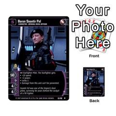 Star Wars Tcg Vi By Jaume Salva I Lara   Multi Purpose Cards (rectangle)   Bxke0hvghvar   Www Artscow Com Front 22