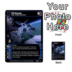 Star Wars Tcg Vii By Jaume Salva I Lara   Multi Purpose Cards (rectangle)   Kdyv3ep6m7bn   Www Artscow Com Front 20