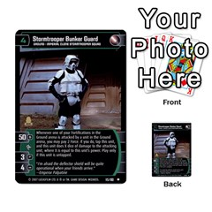Star Wars Tcg Vii By Jaume Salva I Lara   Multi Purpose Cards (rectangle)   Kdyv3ep6m7bn   Www Artscow Com Front 23