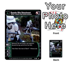 Star Wars Tcg Vii By Jaume Salva I Lara   Multi Purpose Cards (rectangle)   Kdyv3ep6m7bn   Www Artscow Com Front 25