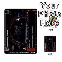 Star Wars Tcg Vii By Jaume Salva I Lara   Multi Purpose Cards (rectangle)   Kdyv3ep6m7bn   Www Artscow Com Front 33