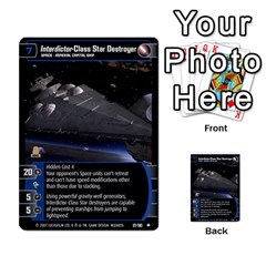 Star Wars Tcg Vii By Jaume Salva I Lara   Multi Purpose Cards (rectangle)   Kdyv3ep6m7bn   Www Artscow Com Front 43