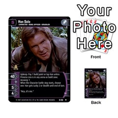 Star Wars Tcg Vii By Jaume Salva I Lara   Multi Purpose Cards (rectangle)   Kdyv3ep6m7bn   Www Artscow Com Front 48