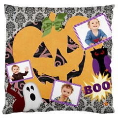 Halloween By Jo Jo   Large Cushion Case (two Sides)   2jf9rupj2cow   Www Artscow Com Front