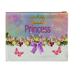 Princess Cosmetic Bag (xl) By Missy    Cosmetic Bag (xl)   O130iyz2nm0r   Www Artscow Com Back