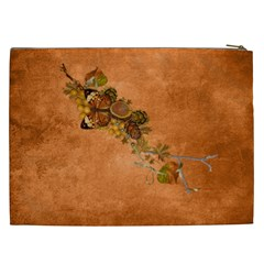 Autumn Delights   Cosmetic Bag (xxl)  By Picklestar Scraps   Cosmetic Bag (xxl)   2xqmyk9a4fb3   Www Artscow Com Back