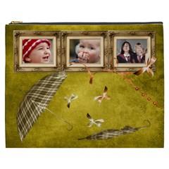Autumn Delights   Cosmetic Bag (xxxl)  By Picklestar Scraps   Cosmetic Bag (xxxl)   Noi1lql93fet   Www Artscow Com Front