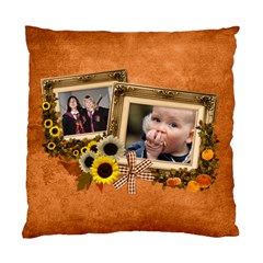 Autumn Delights   Cushion Case(2 Sides)  By Picklestar Scraps   Standard Cushion Case (two Sides)   1cbwjm8slez6   Www Artscow Com Front