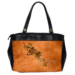 Autumn Delights   Oversize Handbag (2sides)  By Picklestar Scraps   Oversize Office Handbag (2 Sides)   Pacc4mtpg8jy   Www Artscow Com Back