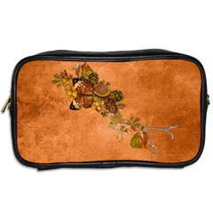 Autumn Delights   Toiletries Bag (two Sides)  By Picklestar Scraps   Toiletries Bag (two Sides)   Orl37iy15den   Www Artscow Com Back