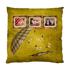Autumn Delights   Cushion Case(2 Sides)  By Picklestar Scraps   Standard Cushion Case (two Sides)   9wrqpz9bczyp   Www Artscow Com Front