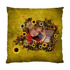 Autumn Delights   Cushion Case(2 Sides)  By Picklestar Scraps   Standard Cushion Case (two Sides)   9wrqpz9bczyp   Www Artscow Com Back