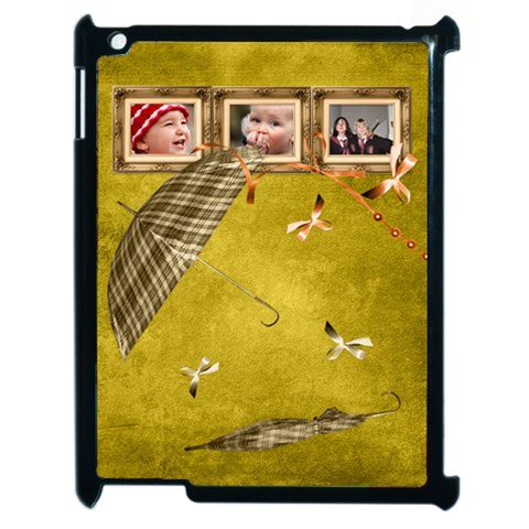 Autumn Delights   Apple Ipad2 Case (black)  By Picklestar Scraps   Apple Ipad 2 Case (black)   Yy6gz9dyxs7c   Www Artscow Com Front