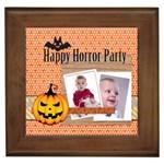 halloween - Framed Tile
