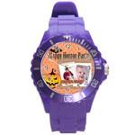 halloween - Round Plastic Sport Watch (L)