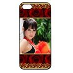 Rose Apple iPhone 5 Seamless Case (Black)