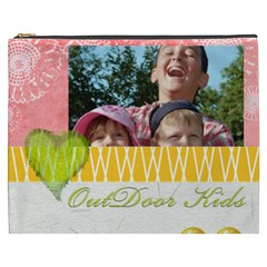 Outdoor Kids By Joely   Cosmetic Bag (xxxl)   Bm76cid8xmww   Www Artscow Com Front