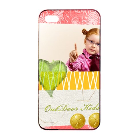 Kids By Joely   Apple Iphone 4/4s Seamless Case (black)   9bfcpvwvvx65   Www Artscow Com Front