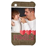 family - Apple iPhone 3G/3GS Hardshell Case