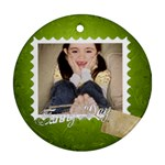 funny day - Ornament (Round)