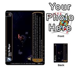 Star Wars Tcg Ix By Jaume Salva I Lara   Multi Purpose Cards (rectangle)   W5k2mtiqpbkl   Www Artscow Com Front 12