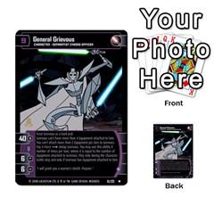 Star Wars Tcg Ix By Jaume Salva I Lara   Multi Purpose Cards (rectangle)   W5k2mtiqpbkl   Www Artscow Com Front 16