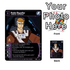 Star Wars Tcg Ix By Jaume Salva I Lara   Multi Purpose Cards (rectangle)   W5k2mtiqpbkl   Www Artscow Com Front 30
