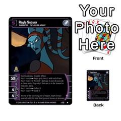 Star Wars Tcg Ix By Jaume Salva I Lara   Multi Purpose Cards (rectangle)   W5k2mtiqpbkl   Www Artscow Com Front 35