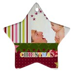 xmas - Star Ornament (Two Sides)