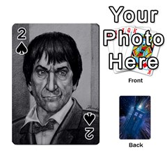 Doctor Who Project By Dude Lebowski   Playing Cards 54 Designs   Nwb3z6o9g3ir   Www Artscow Com Front - Spade2