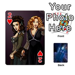 Doctor Who Project By Dude Lebowski   Playing Cards 54 Designs   Nwb3z6o9g3ir   Www Artscow Com Front - Heart2