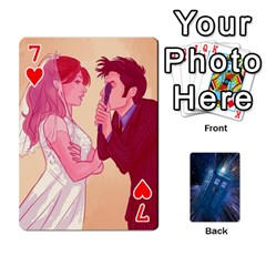 Doctor Who Project By Dude Lebowski   Playing Cards 54 Designs   Nwb3z6o9g3ir   Www Artscow Com Front - Heart7