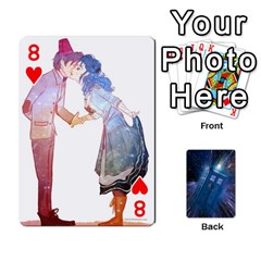 Doctor Who Project By Dude Lebowski   Playing Cards 54 Designs   Nwb3z6o9g3ir   Www Artscow Com Front - Heart8