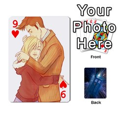 Doctor Who Project By Dude Lebowski   Playing Cards 54 Designs   Nwb3z6o9g3ir   Www Artscow Com Front - Heart9