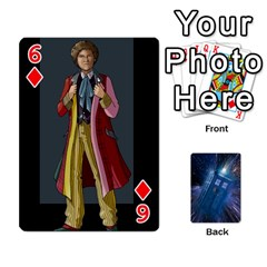 Doctor Who Project By Dude Lebowski   Playing Cards 54 Designs   Nwb3z6o9g3ir   Www Artscow Com Front - Diamond6