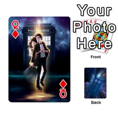 Queen Doctor Who Project By Dude Lebowski   Playing Cards 54 Designs   Nwb3z6o9g3ir   Www Artscow Com Front - DiamondQ