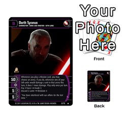 Star Wars Tcg X By Jaume Salva I Lara   Multi Purpose Cards (rectangle)   Vegj9py9njp2   Www Artscow Com Front 23
