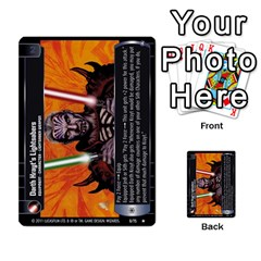 Star Wars Tcg X By Jaume Salva I Lara   Multi Purpose Cards (rectangle)   Vegj9py9njp2   Www Artscow Com Front 30