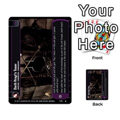 Star Wars Tcg X By Jaume Salva I Lara   Multi Purpose Cards (rectangle)   Vegj9py9njp2   Www Artscow Com Front 32