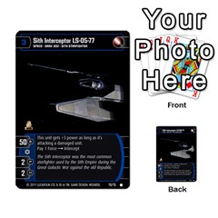 Star Wars Tcg X By Jaume Salva I Lara   Multi Purpose Cards (rectangle)   Vegj9py9njp2   Www Artscow Com Front 50